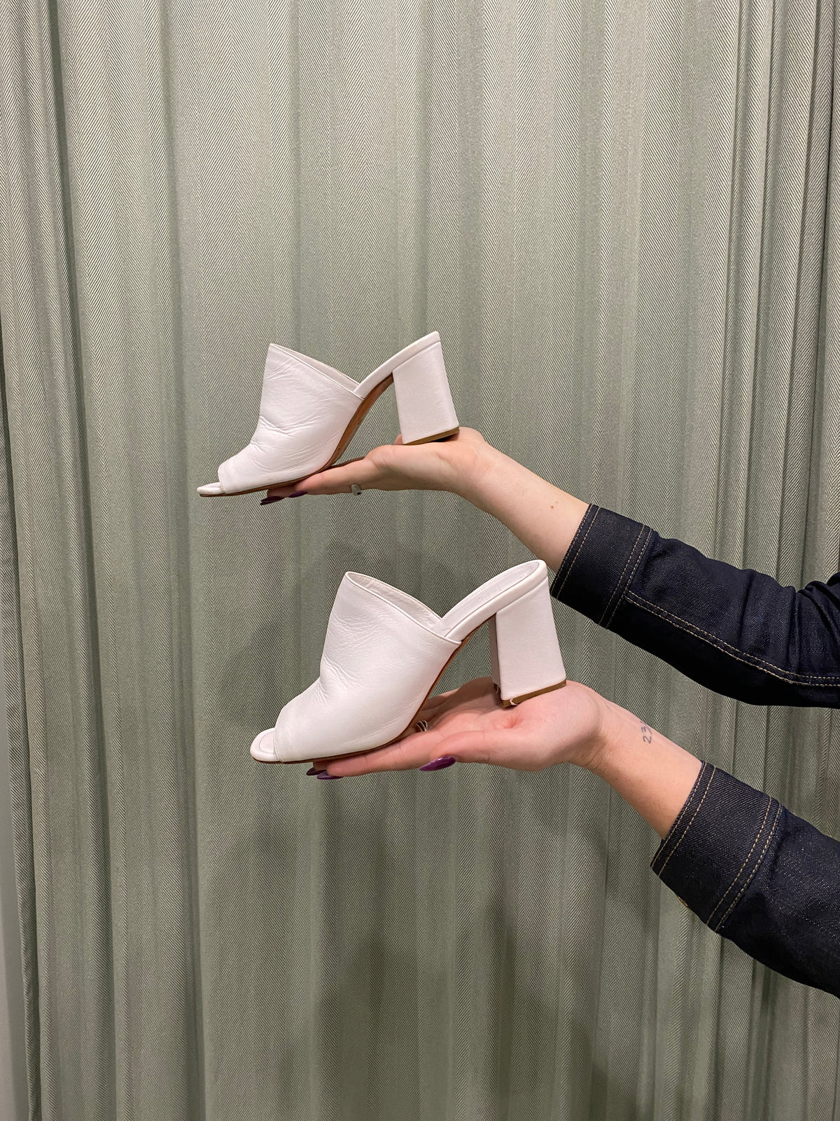 Maryam Nassir Zadeh Leather Mules
