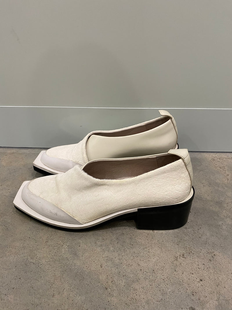Alpha60 Square Toed Shoes