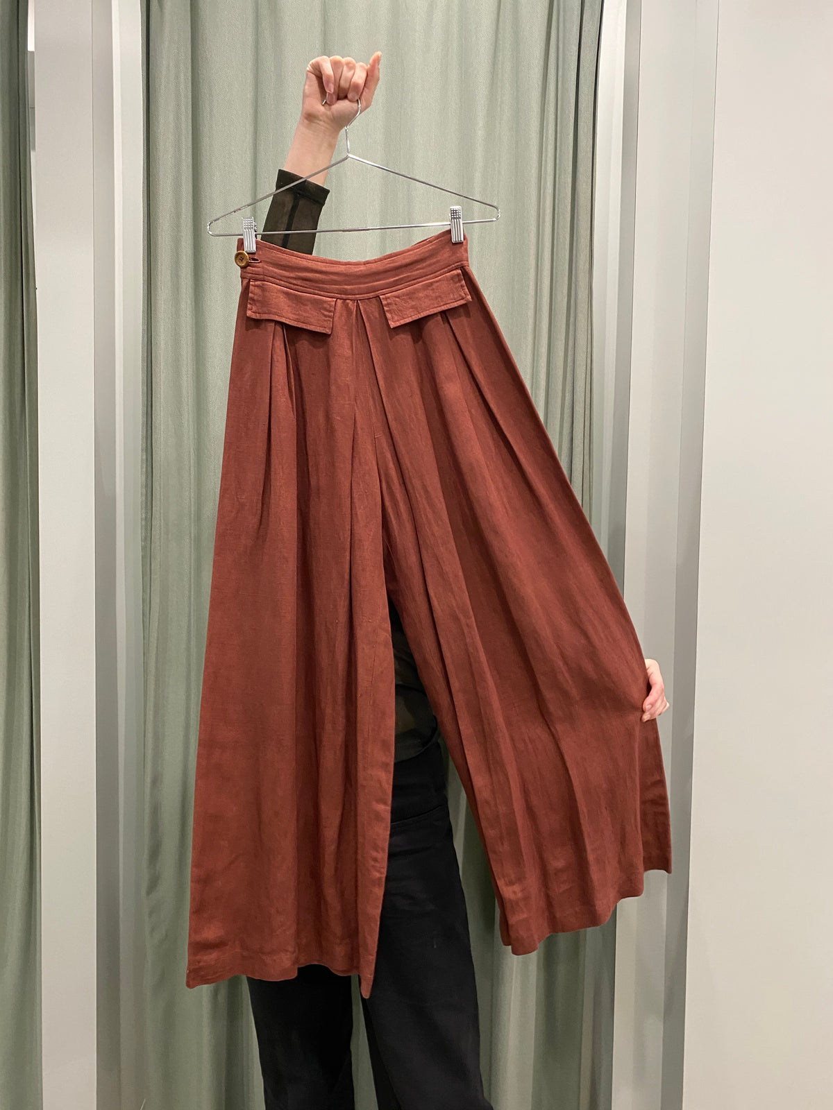 Brighid Lehmann Rust Wide Pants