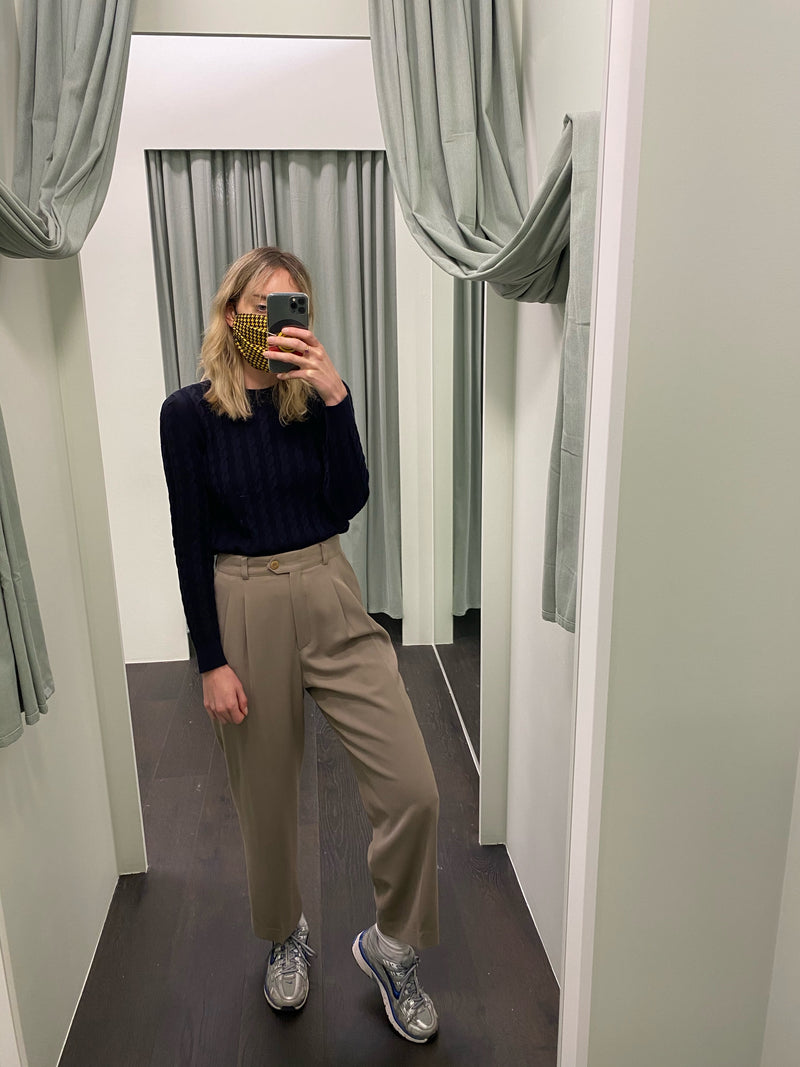 Escada Beige Trousers