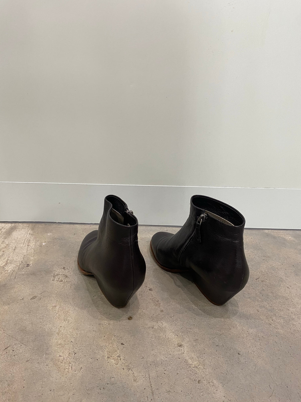 Roberto Del Carlo Brown Ankle Booties
