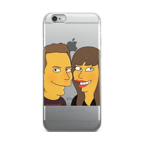 IPhone - Couple Half Body - IPhone Case