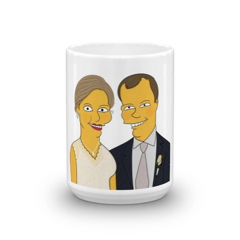 Mug - Couple Half Body - Mug