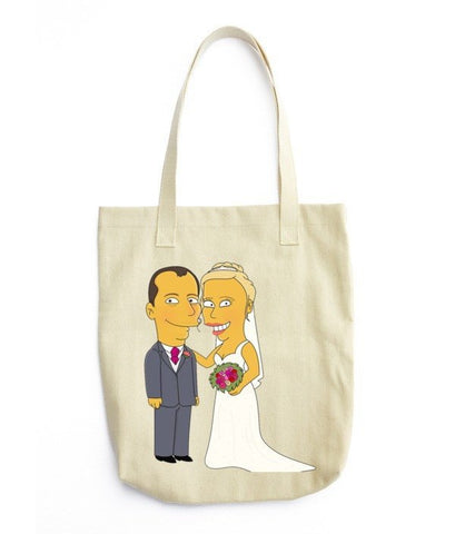 Tote Bag - Couple Full Body - Tote Bag