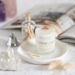 Carnelian Travel Candle (New)