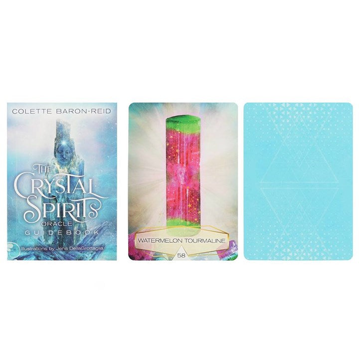 'The Crystal Spirits' Oracle Cards