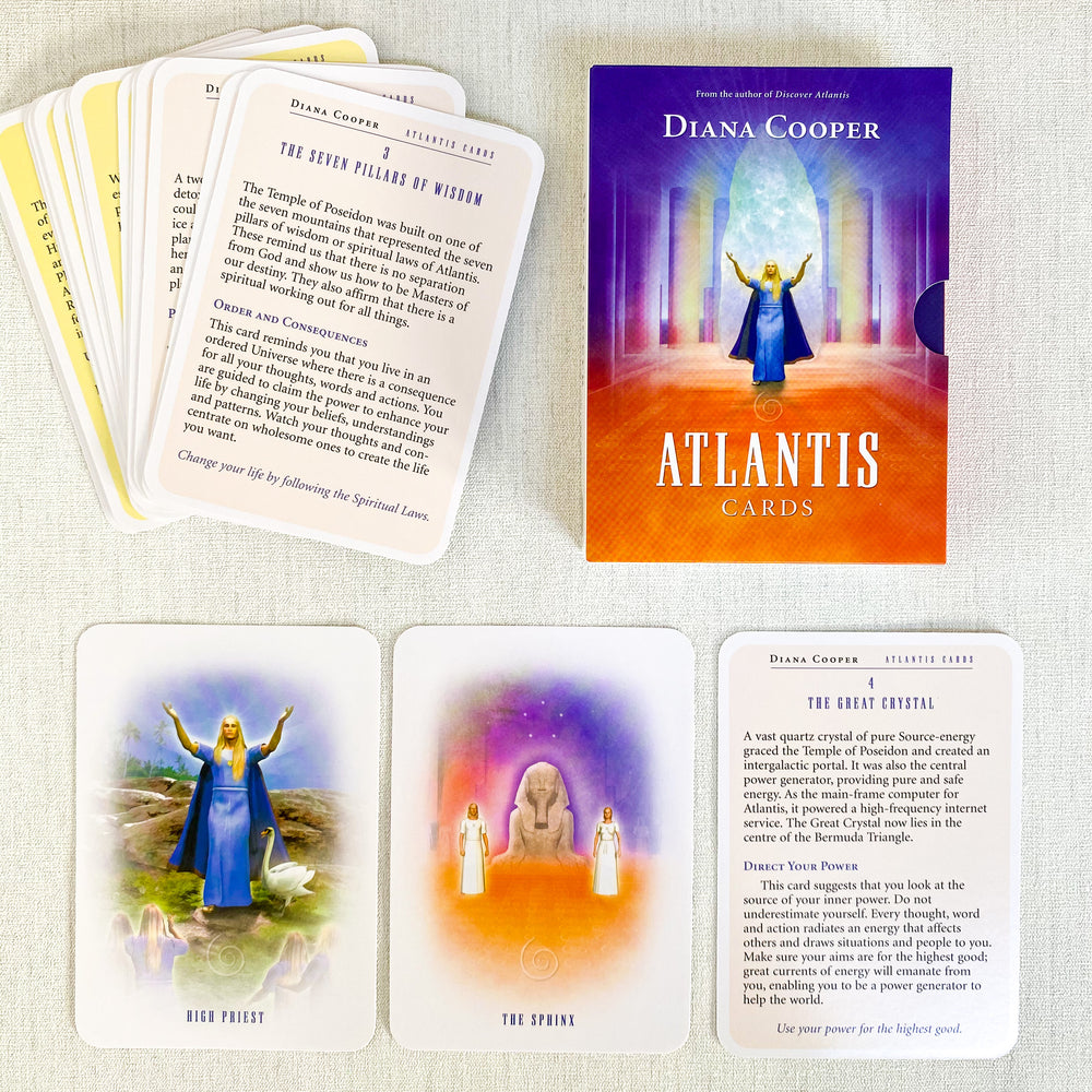 Load image into Gallery viewer, Atlantis Oracle Cards