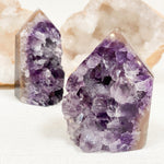 Amethyst Geode Agate Point
