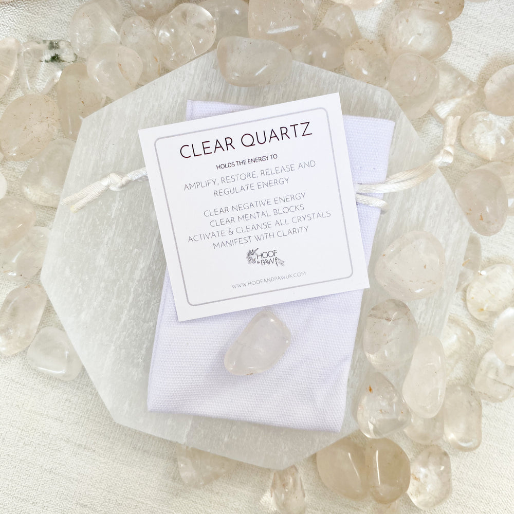 Clear Quartz Tumblestone (Small)