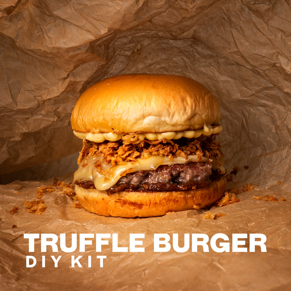 01. Truffle Burger Meal Kit - Beef & Bacon