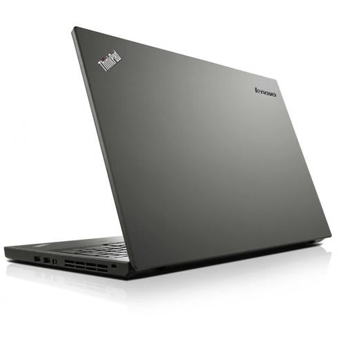 A back right side view of a Lenovo ThinkPad T430 - i5-3360M | 8-16GB RAM | 256GB SSD - 512GB SSD (REFURBISHED) laptop