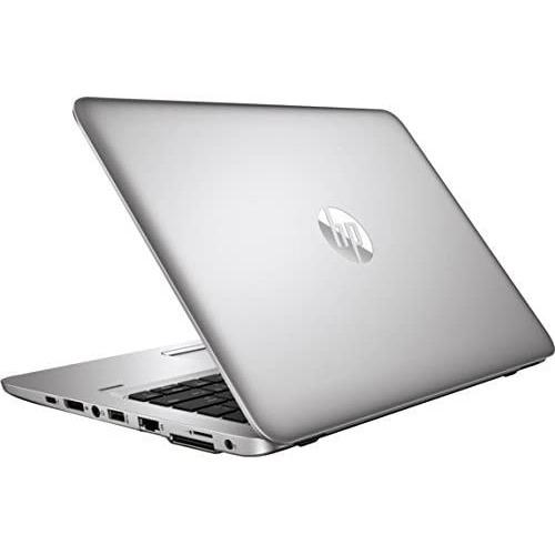 A back right side view of an HP EliteBook 820 G3 - I5-6300U 2.40ghz | 8-16GB RAM |  256GB SSD - 512GB SSD(REFURBISHED) laptop