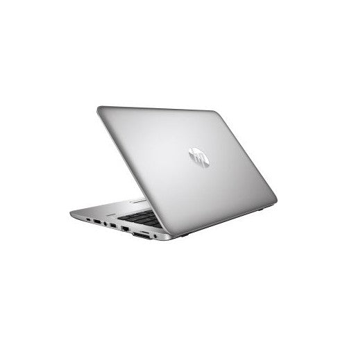 A back right side view of an HP EliteBook 830 G5 - I5-8350U 1.70ghz | 8-16GB RAM |  256GB SSD - 512GB SSD(REFURBISHED) laptop