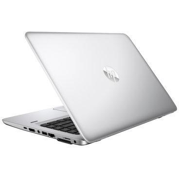 A back right side view of an HP EliteBook 840 G3 - I7-6600U 2.60GHz | 8-16GB RAM | 512GB SSD - 1TB SSD (REFURBISHED) laptop