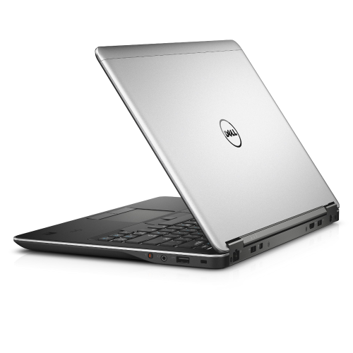 A back right side view of a Dell Latitude E7440- i7-4600U | 8-16GB RAM | 256GB SSD - 512GB SSD  (REFURBISHED) laptop