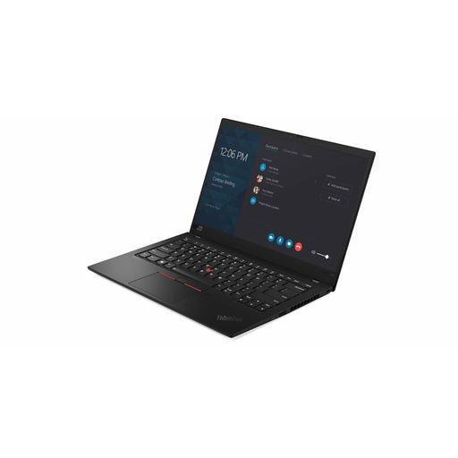 A front right side view of a Lenovo X1 Carbon - i5-6300U CPU @ 2.40GHz | 8-16GB RAM | 256GB SSD - 512GB SSD (REFURBISHED) laptop