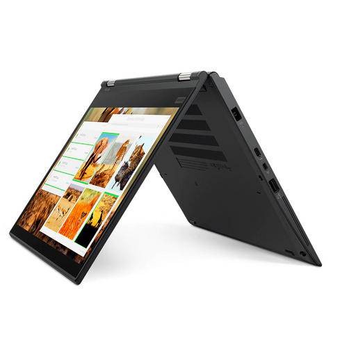 A right side view of a Lenovo X380 Yoga - i5-8350U 1.70GHz | 8-16GB RAM | 256GB SSD - 512GB SSD (REFURBISHED) laptop