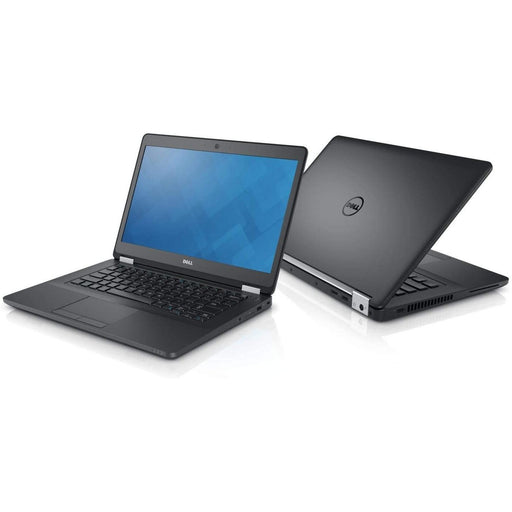 Two Dell Latitude E7370- Core M-5Y10 1.2 GhZ | 8-16GB RAM | 128GB SSD - 256GB SSD - 512GB SSD (REFURBISHED) laptops back to back