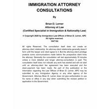 Load image into Gallery viewer, 15-Minute Immigration Attorney Pinterest Consultation Packet - Rocket Immigration Petitions