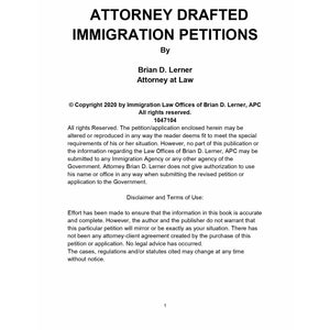 Attorney Drafted Immigration Petitions: EB-3 Consular Processing - Rocket Immigration Petitions