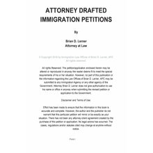 Load image into Gallery viewer, Attorney Drafted U Visa Victim of Crime Petition - Rocket Immigration Petitions
