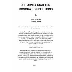 Attorney Drafted U Visa Victim of Crime Petition - Rocket Immigration Petitions