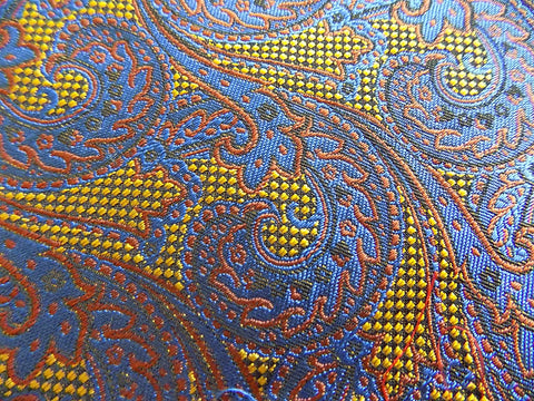 NEW! Paisley Silk & Cotton Blend