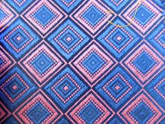 NEW! Large Square Pattern Silk - Center Street Tie Makers