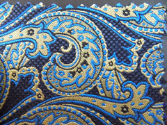 NEW! Paisley Silk & Cotton Blend - Center Street Tie Makers