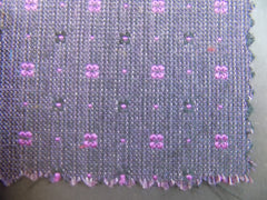 NEW! Small Squares Silk & Wool Blend - Center Street Tie Makers