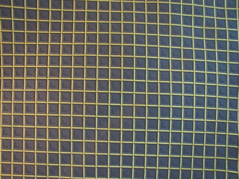 Black and Gold Squares