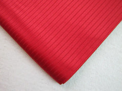 Bright Red Stripe Silk - Center Street Tie Makers