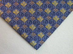 Blue and Yellow Flower - Center Street Tie Makers