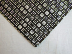 Dark Brown & Silver Necktie Tip - Center Street Tie Makers