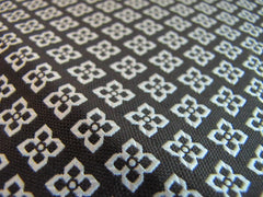 Closeup of Diamond Pattern - Center Street Tie Makers