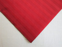 Solid Red Stripe - Center Street Tie Makers