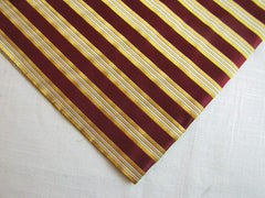 Red & Gold Stripes