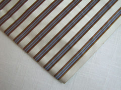 White, Brown and Blue Stripe