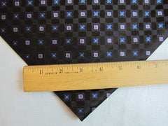 Deep Brown Classic Star Silk - Center Street Tie Makers