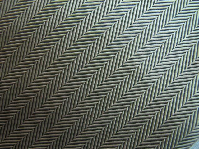 Silver Gray Herringbone Stripe - Center Street Tie Makers