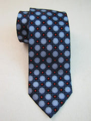 Blue Polka Dot Necktie - Center Street Tie Makers