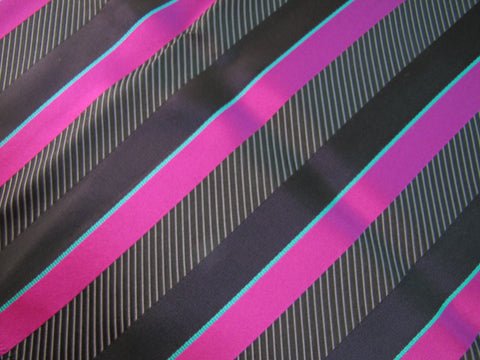 Black & Pink Stripe
