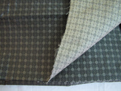 Modest Gray Squares Silk - Center Street Tie Makers