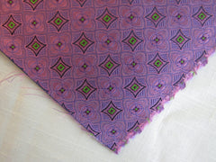 Pink and Green Star Geometric - Center Street Tie Makers
