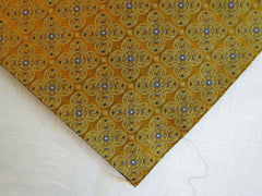 Gold and Blue Sunflower - Center Street Tie Makers