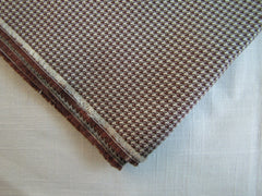 Brown and Silver Houndstooth - Center Street Tie Makers
