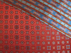Red and Blue Classic Star - Center Street Tie Makers