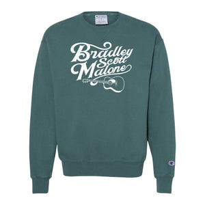 Bradley Scott Malone: Champion - Garment Dyed Crewneck Sweatshirt -(CD400)