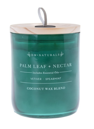 Palm Leaf and Nectar- Large Double Wick Candle