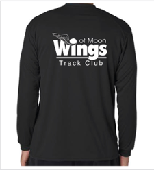 Wings of Moon - Badger Performance B-Core Long-Sleeve Youth/Adult Tee - 410400/210400